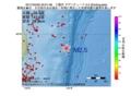 地震震源マップ:2017年04月30日 20時01分 三陸沖 M2.5