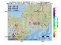 地震震源マップ:2017年05月01日 01時52分 愛知県西部 M2.6