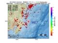 地震震源マップ:2017年05月01日 05時22分 茨城県沖 M2.7
