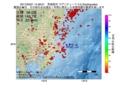 地震震源マップ:2017年05月01日 14時26分 茨城県沖 M2.5
