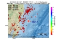 地震震源マップ:2017年05月01日 23時11分 茨城県沖 M2.7