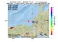 地震震源マップ:2017年05月02日 11時55分 福井県沖 M3.2