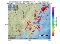 地震震源マップ:2017年05月02日 23時19分 茨城県南部 M3.0