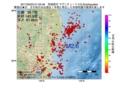 地震震源マップ:2017年05月03日 01時52分 茨城県沖 M2.6