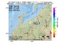 地震震源マップ:2017年05月03日 15時08分 新潟県上越地方 M3.7