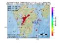 地震震源マップ:2017年05月03日 18時30分 宮崎県北部山沿い M3.1