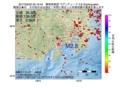 地震震源マップ:2017年05月03日 22時19分 静岡県東部 M2.8