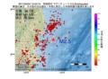 地震震源マップ:2017年05月04日 12時53分 茨城県沖 M2.5