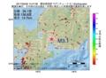 地震震源マップ:2017年05月06日 14時47分 愛知県西部 M3.1
