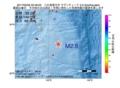 地震震源マップ:2017年05月06日 22時46分 八丈島東方沖 M2.9
