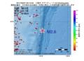 地震震源マップ:2017年05月07日 03時10分 三陸沖 M2.6