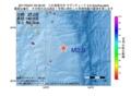 地震震源マップ:2017年05月07日 05時39分 八丈島東方沖 M2.9