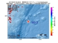 地震震源マップ:2017年05月07日 05時48分 関東東方沖 M3.3