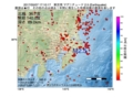地震震源マップ:2017年05月07日 17時10分 東京湾 M2.5