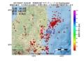 地震震源マップ:2017年05月07日 18時25分 茨城県北部 M3.2