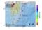 地震震源マップ:2017年05月08日 13時29分 大隅半島東方沖 M2.5