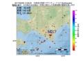 地震震源マップ:2017年05月08日 14時59分 日高地方西部 M2.7