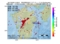 地震震源マップ:2017年05月09日 13時39分 熊本県熊本地方 M3.0
