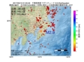 地震震源マップ:2017年05月10日 01時03分 千葉県南部 M2.9