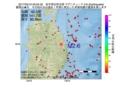 地震震源マップ:2017年05月10日 03時04分 岩手県沿岸北部 M2.6