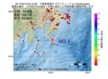 地震震源マップ:2017年05月10日 03時10分 千葉県南東沖 M3.4