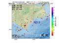 地震震源マップ:2017年05月10日 06時45分 十勝沖 M3.5
