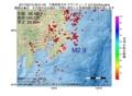 地震震源マップ:2017年05月10日 09時51分 千葉県東方沖 M2.9