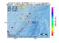 地震震源マップ:2017年05月10日 10時30分 種子島南東沖 M3.1
