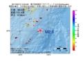 地震震源マップ:2017年05月10日 12時54分 種子島南東沖 M2.6