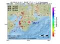 地震震源マップ:2017年05月10日 15時12分 奈良県 M2.7