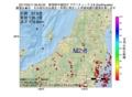地震震源マップ:2017年05月11日 09時40分 新潟県中越地方 M2.8