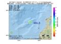 地震震源マップ:2017年05月11日 19時24分 石川県西方沖 M4.3