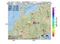 地震震源マップ:2017年05月13日 19時50分 岐阜県飛騨地方 M2.9