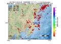 地震震源マップ:2017年05月14日 03時44分 茨城県南部 M2.9