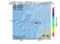 地震震源マップ:2017年05月14日 12時06分 北海道西方沖 M3.5