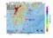 地震震源マップ:2017年05月15日 02時56分 日向灘 M2.5