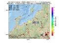 地震震源マップ:2017年05月15日 19時28分 新潟県上越地方 M2.8