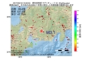 地震震源マップ:2017年05月16日 15時00分 愛知県西部 M3.1