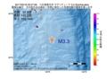 地震震源マップ:2017年05月16日 20時47分 八丈島東方沖 M3.3