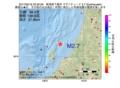 地震震源マップ:2017年05月16日 23時32分 新潟県下越沖 M2.7