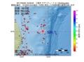 地震震源マップ:2017年05月20日 16時59分 三陸沖 M4.1
