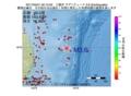 地震震源マップ:2017年05月21日 00時12分 三陸沖 M3.6