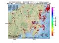 地震震源マップ:2017年05月21日 04時39分 埼玉県北部 M3.6