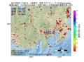 地震震源マップ:2017年05月21日 11時59分 山梨県中・西部 M2.8