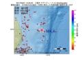 地震震源マップ:2017年05月21日 14時05分 三陸沖 M4.4