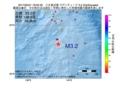 地震震源マップ:2017年05月21日 16時05分 八丈島近海 M3.2