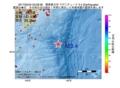 地震震源マップ:2017年05月24日 03時28分 関東東方沖 M3.4