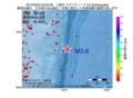 地震震源マップ:2017年05月24日 03時42分 三陸沖 M3.6