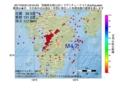 地震震源マップ:2017年05月24日 23時34分 宮崎県北部山沿い M4.7