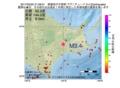 地震震源マップ:2017年05月25日 21時08分 釧路地方中南部 M3.4
